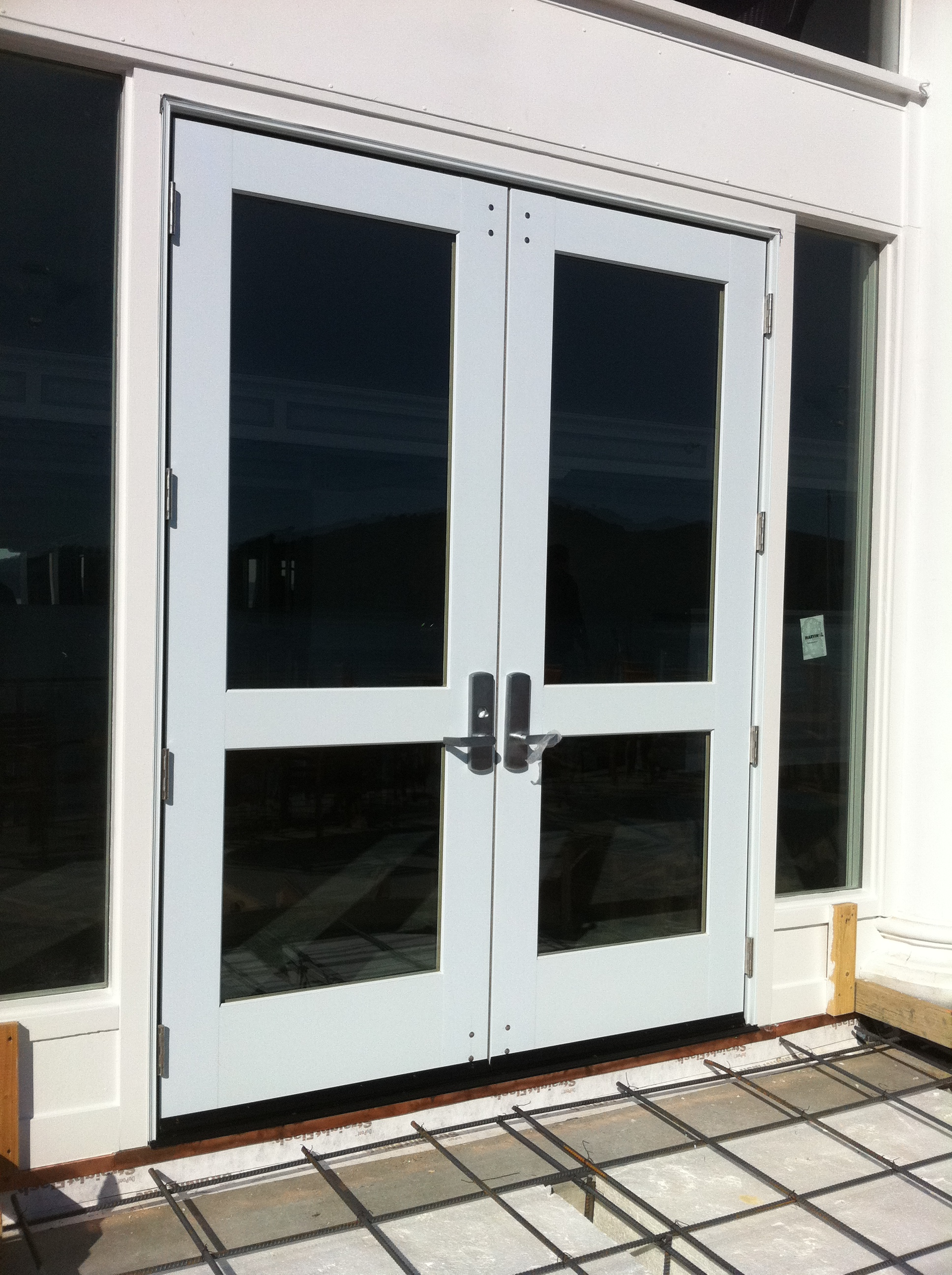 Marvin commercial door 3 ot glass for Commercial glass doors