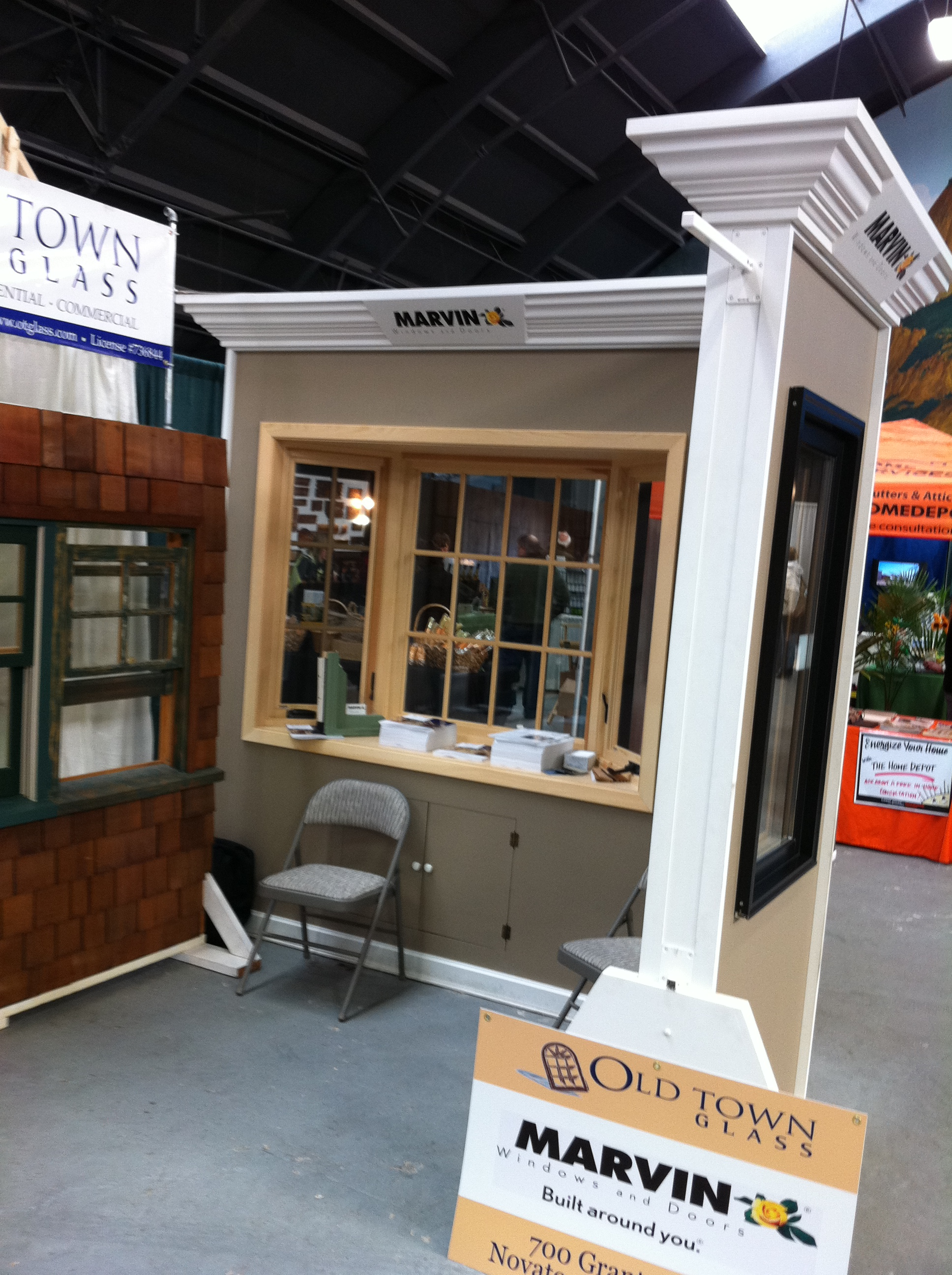 Marvin home show booth 2 ot glass - Glass house show ...