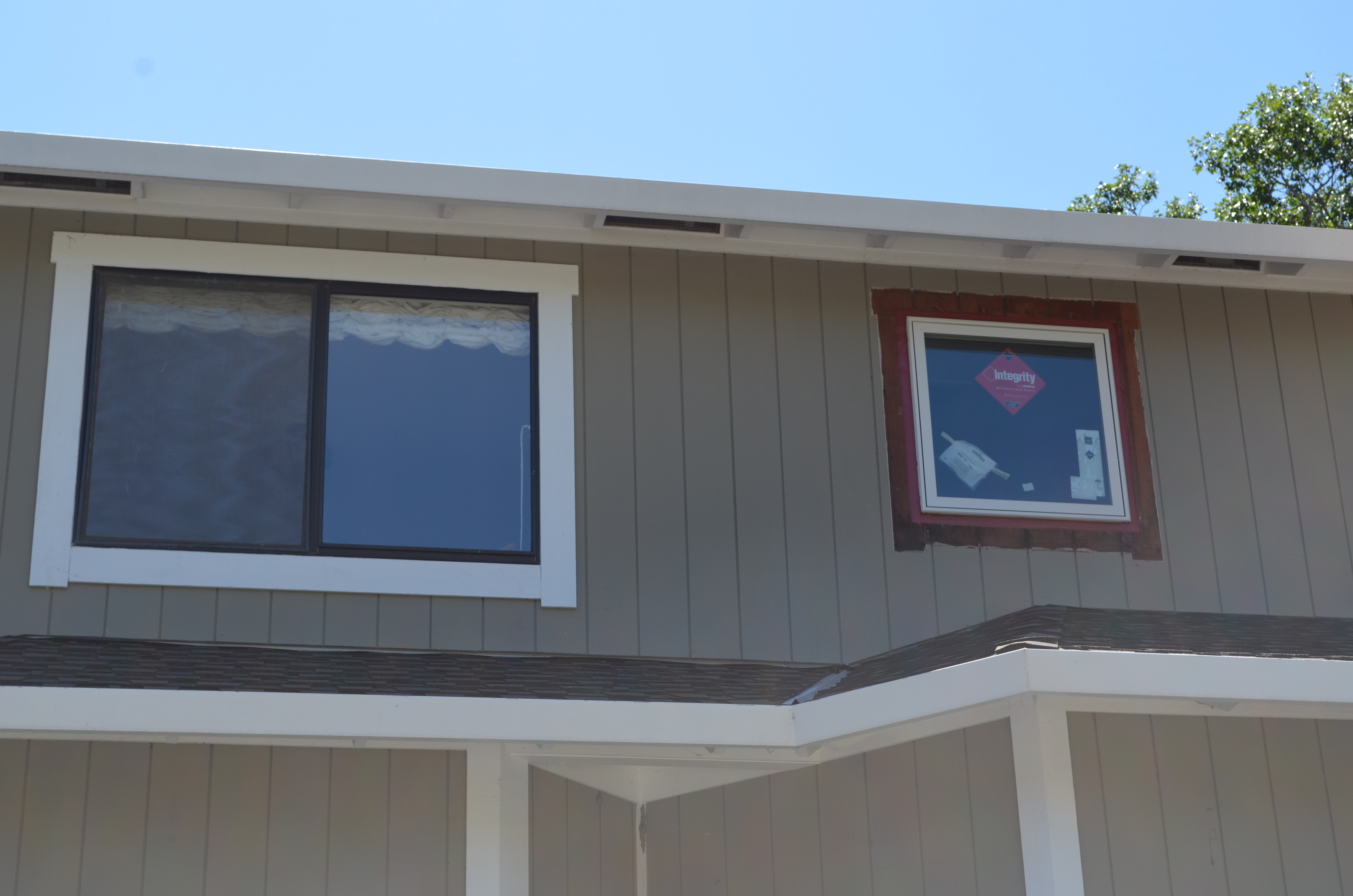 Marvin And Integrity Window Installation Ot Glass