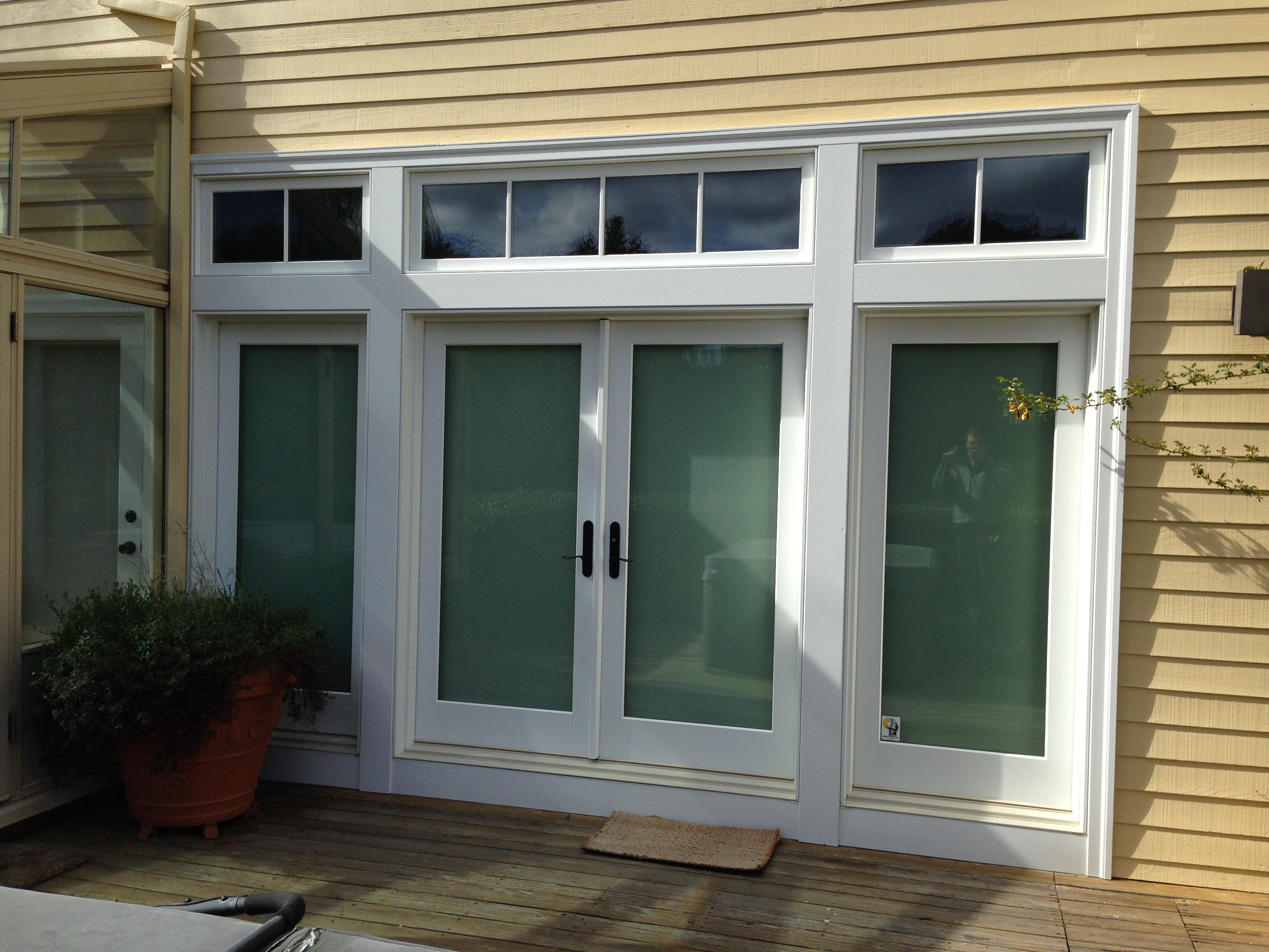Marvin clad inswing door ot glass for Marvin transom windows