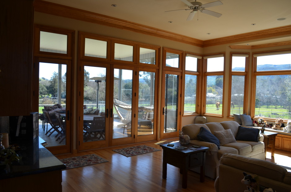 Dwell project with marvin windows and doors ot glass for Marvin transom windows