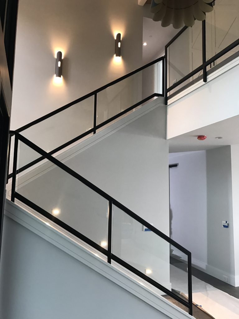 Interior Glass Stair Railing Ot Glass
