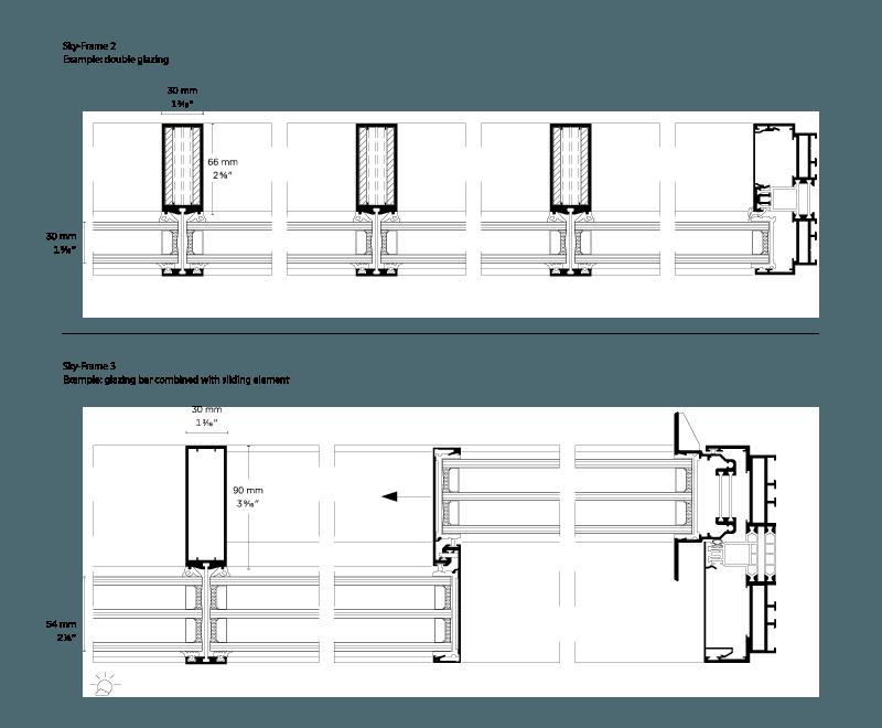 sky-frame inline door mechanics