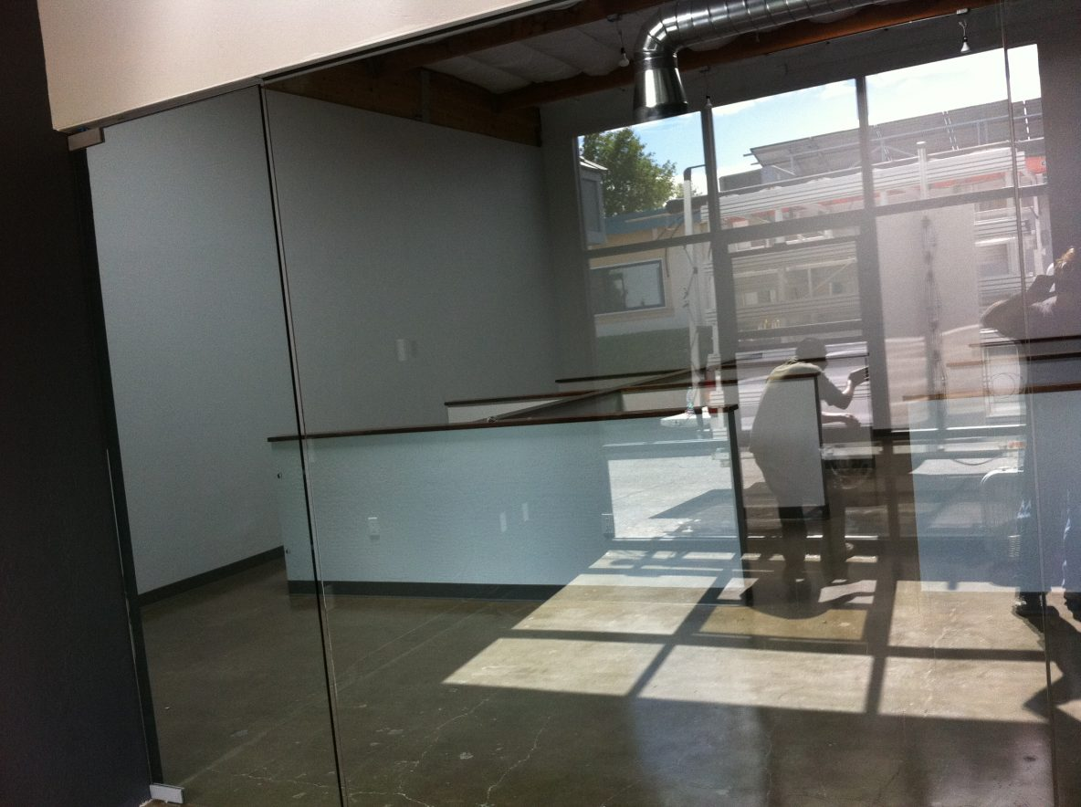 "1/2"" Glass Conference Room Installation"
