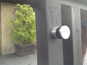 Standoff Glas Rail
