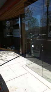 Types of Storefront: Aluminum Framed and Frameless Glass