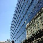 Budapest Glass Bldg Facade