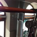 Hand Rail On Glass Railing Vienna Austria 2