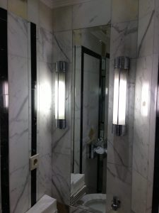 Mirror Bevel Inlay Marble