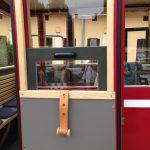 Wood Window Unique on Train in Austria 2