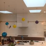 Bright White Painted Glass Back Splash (2)