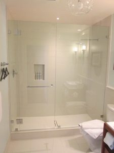 Custom Hotel Glass Shower Doors