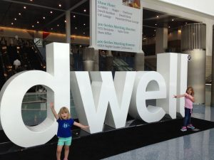 Kids at Dwell on Design