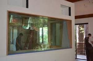 Glass for Sound Studio