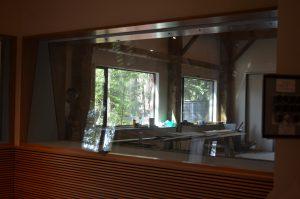 Studio Control Room Glass