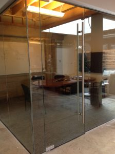 Glass Conference Room with ADA Hardware