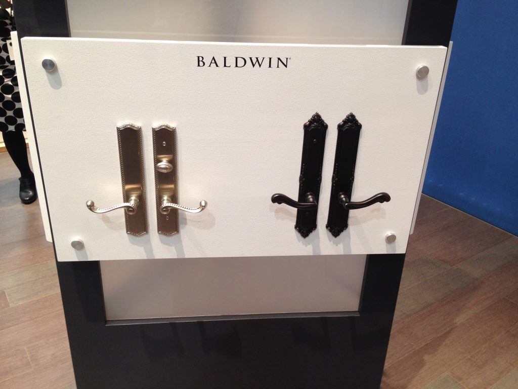 Baldwin Hardware for Marvin Sliding and Hinged Doors