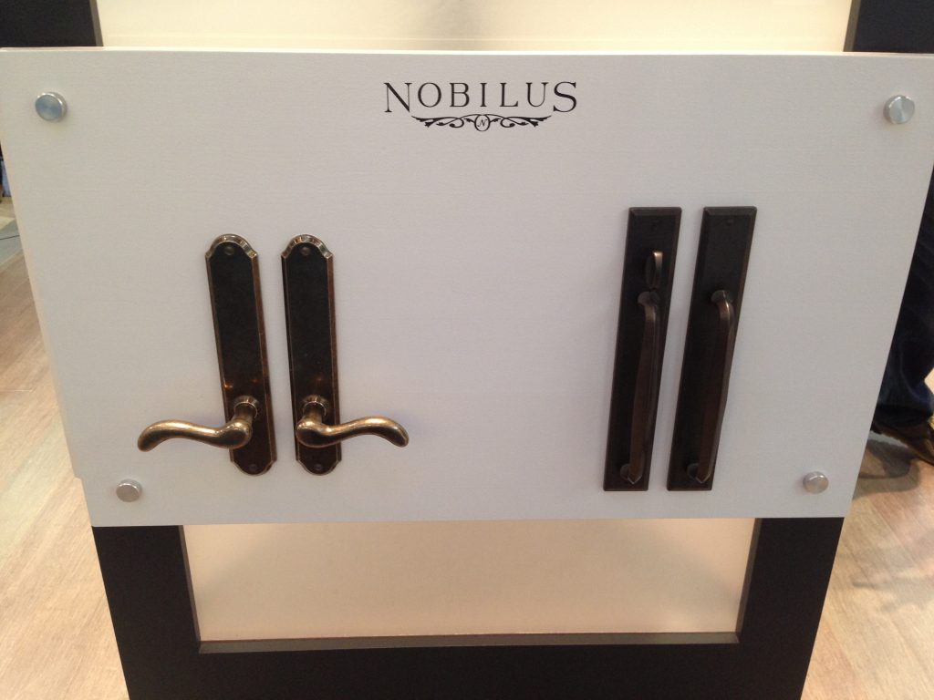 Nobilus Hardware for Marvin Hinged and Sliding Door Hardware