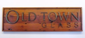 Showroom Photos 6 - OT Glass wood sign