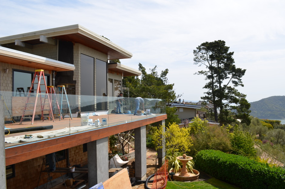 Tiburon Glass and Ipe Deck