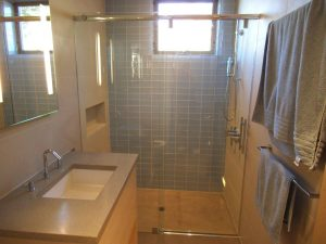 Unique Frameless Sliding Shower Door System