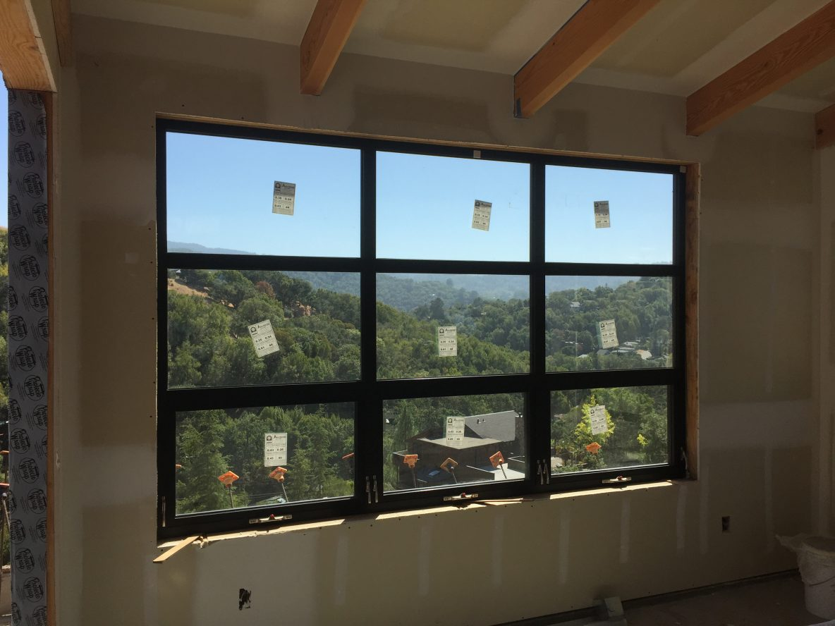 All Weather, Aluminum Windows and Doors on Marin County Project