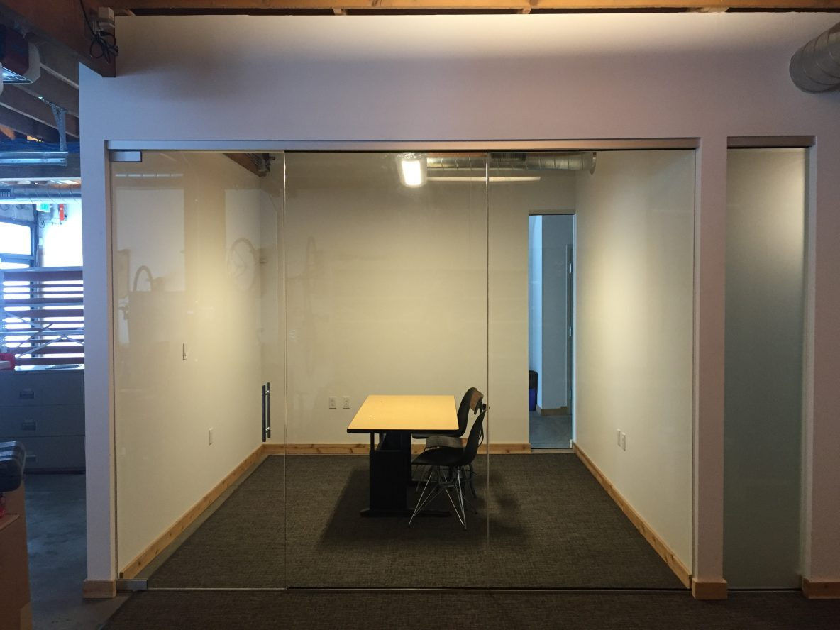 Glass Conference Rooms
