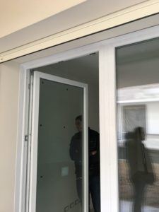Italian Tilt Turn, Window and Inswing Door Combination